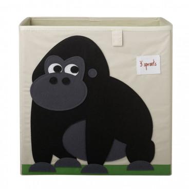 3Sprouts Καλάθι Τετράγωνο Για Τα Παιχνίδια Gorilla IBXGOR