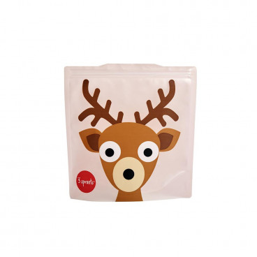 3Sprouts Θήκες Για Σάντουιτς 2Τμχ. Deer ISWDEE