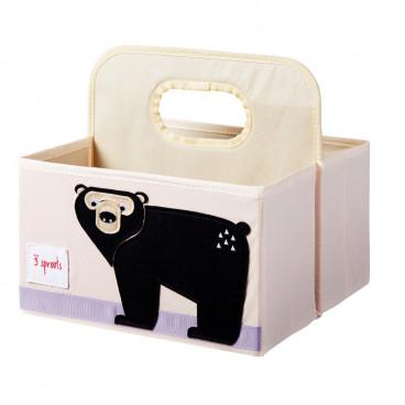 3Sprouts Θήκη Για Πάνες Και Καλλυντικά Bear IDOBEA