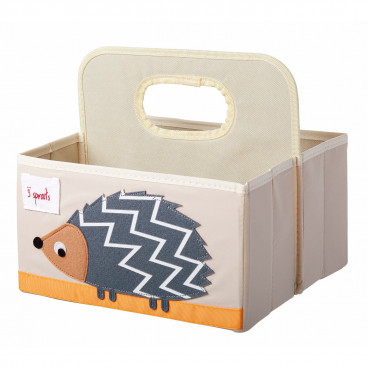 3Sprouts Θήκη Για Πάνες Και Καλλυντικά Hedgehog IDOHDG