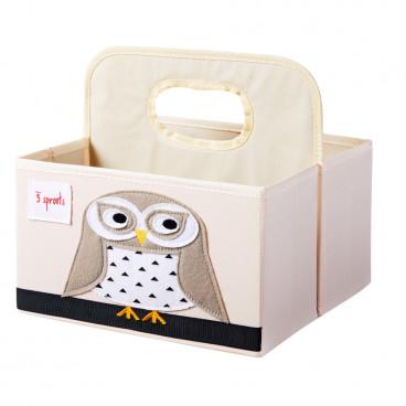 3Sprouts Θήκη Για Πάνες Και Καλλυντικά Owl IDOOWL
