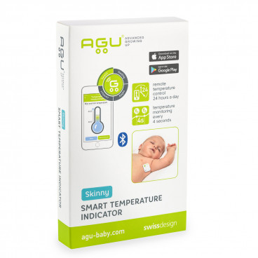 Agu Θερμόμετρο Βρέφους Με Επικόλληση X40-STI20