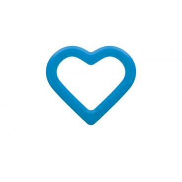 Akuku Μασητικό Μπλε Καρδιά A0426-2