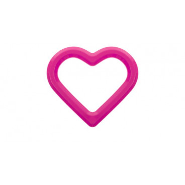 Akuku Μασητικό Ροζ Καρδιά A0426-3