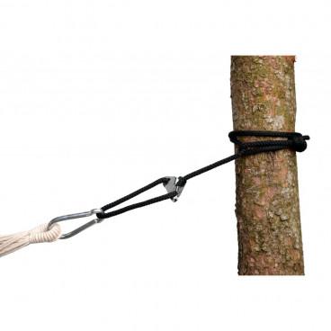 Amazonas Σχοινί Για Στήριξη Αιώρας Smartrope Black AZ-3025001