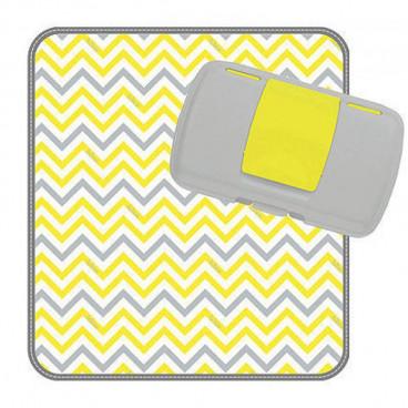B.BOX Πορτοφόλι Αλλαγής Πάνας Yellow 0107020000084