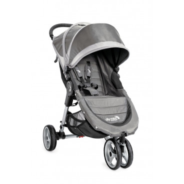 Baby Jogger Καρότσι City Mini 3 Wheels Steel Gray 1962879