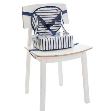 Baby To Love Καρεκλάκι Φαγητού Καρέκλας Easy Up Baby Booster Μπλε 302023