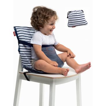 Baby To Love Καρεκλάκι Φαγητού Καρέκλας Pocket Chair Μπλε 301293