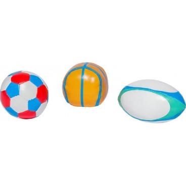 Baby To Love Μπαλίτσες Αθλημάτων Sport 3Τμχ. BTL302337