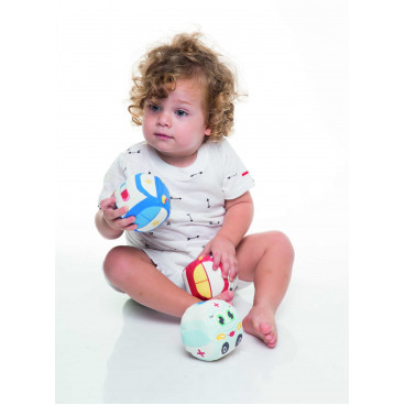 Baby To Love Μπαλίτσες Αυτοκινητάκια 3Τμχ.  BTL350475