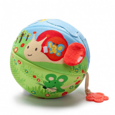 Baby To Love Activity Ball Big 2 In 1 Μπάλα Δραστηριοτήτων Nature BTL350321