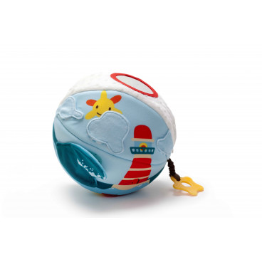 Baby To Love Activity Ball Big 2 In 1 Μπάλα Δραστηριοτήτων Ocean BTL350338