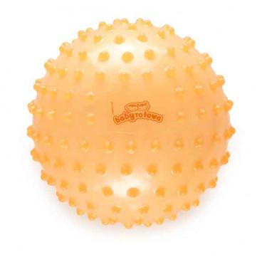 Baby To Love Sensory Ball Μπάλα Δραστηριοτήτων Πορτοκαλί BTL370329