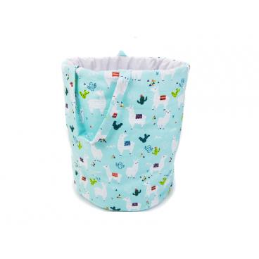 Babycute Καλάθι Στρόγγυλο Για Τα Παιχνίδια Mint Lamy B101