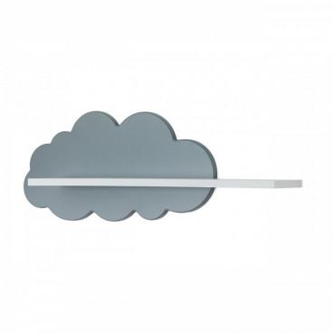 Babycute Ράφι Τοίχου Cloud Γκρι 11145
