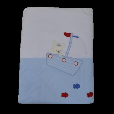Bebe Stars Κουβέρτα Βελουτέ  Αγκαλιάς Fisherman 2026