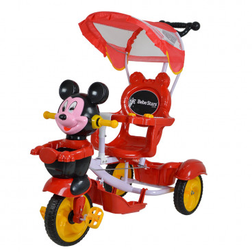 Bebe Stars Τρίκυκλο Ποδηλατάκι Mouse Red 610-180