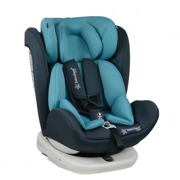 Bebe Stars Κάθισμα Αυτοκινήτου Levante Isofix 360° 0-36KG Blue 910-184