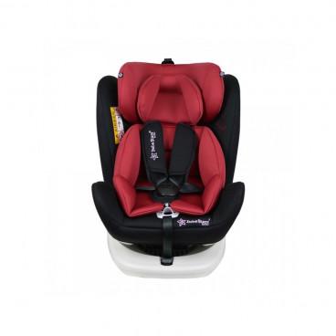 Bebe Stars Κάθισμα Αυτοκινήτου Levante Isofix 360° 0-36KG Red 910-185