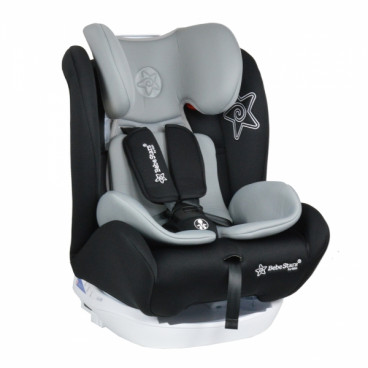 Bebe Stars Κάθισμα Αυτοκινήτου Macan Isofix 0-36KG Black 920-186