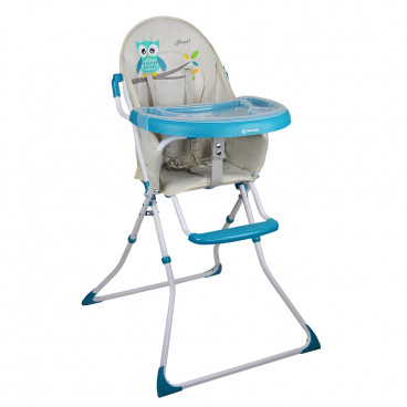Bebe Stars Καρέκλα Φαγητού Leaf Blue 865-184