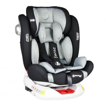 Bebe Stars Κάθισμα Αυτοκινήτου Macan 360° Isofix 0-36KG Grey 920-188