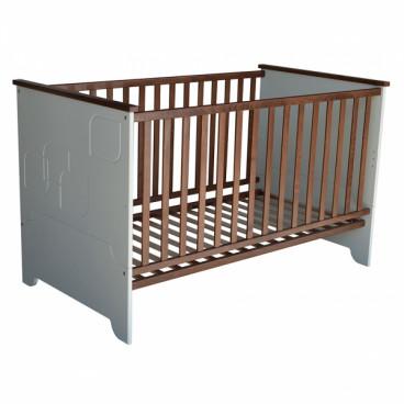 Bebe Stas Κρεβάτι Προεφηβικό Leaf Brown 408-06