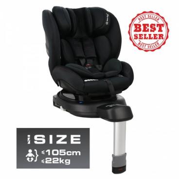 Bebe Stars Κάθισμα Αυτοκινήτου Megan I-Size 40 έως 105cm 0-18Kg Black 926-188