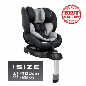 Bebe Stars Κάθισμα Αυτοκινήτου Megan I-Size 40 έως 105cm 0-18Kg Grey 926-186