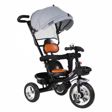 Bebe Stars Τρίκυκλο Ποδηλατάκι Forza Grey 816-186