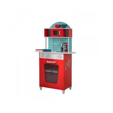 Beluga Ξύλινη Κουζίνα Red 68001