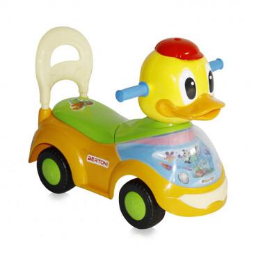 Bertoni Ποδοκίνητο Duck Yellow 1005017