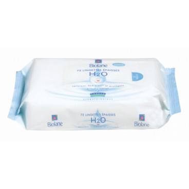 Biolane Μαντηλάκια Καθαρισμού Με H2O 72 Τμχ. BLINE72