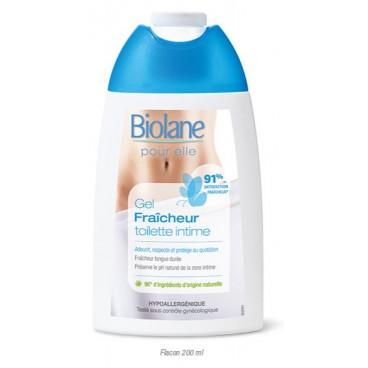 Biolane Gel Καθαρισμού Για Την Ευαίσθητη Περιοχή Fraicheur 200ml BEGF