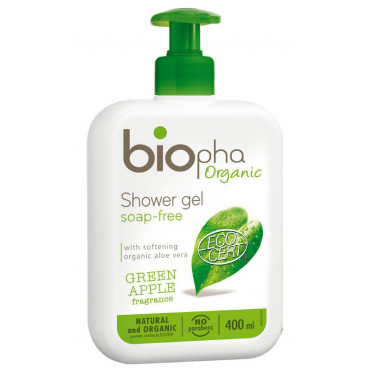 Biopha Βιολογικό Douche Gel Για Μητέρες Με Άρωμα Πράσινου Μήλου 400ml BNGD1