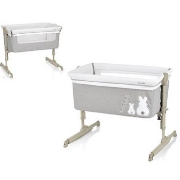 Brevi Λίκνο Nanna Oh Pearl Grey Bianconiglio 855-501