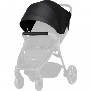 Britax-Romer Σετ Προστατευτικό Κάλυμμα Και Κουκούλα Καροτσιού B-Agile 4 Plus/B-Motion Cosmos Black R