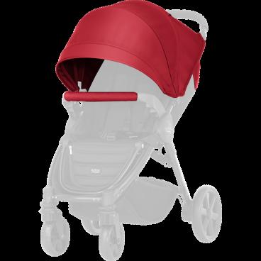 Britax-Romer Σετ Προστατευτικό Κάλυμμα Και Κουκούλα Καροτσιού B-Agile 4 Plus/B-Motion Flame Red R200