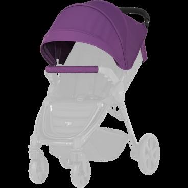 Britax-Romer Σετ Προστατευτικό Κάλυμμα Και Κουκούλα Καροτσιού B-Agile 4 Plus/B-Motion Mineral Lilac
