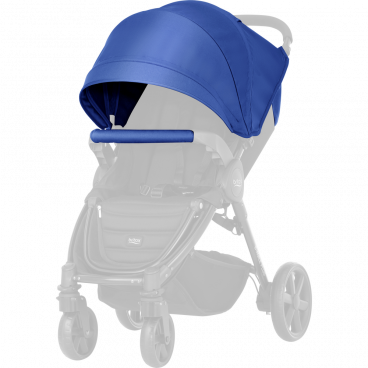 Britax-Romer Σετ Προστατευτικό Κάλυμμα Και Κουκούλα Καροτσιού B-Agile 4 Plus/B-Motion Ocean Blue R20