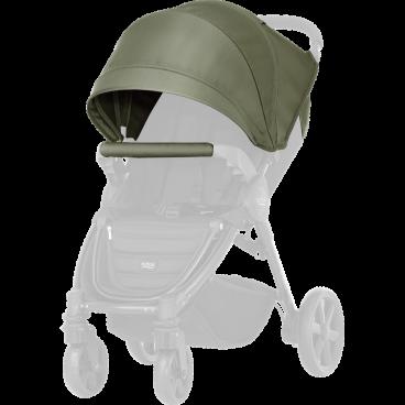 Britax-Romer Σετ Προστατευτικό Κάλυμμα Και Κουκούλα Καροτσιού B-Agile 4 Plus/B-Motion Olive Green R2