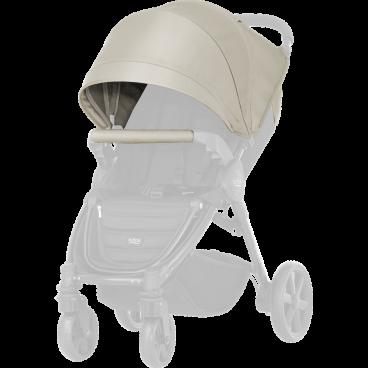 Britax-Romer Σετ Προστατευτικό Κάλυμμα Και Κουκούλα Καροτσιού B-Agile 4 Plus/B-Motion Sand Beige R20