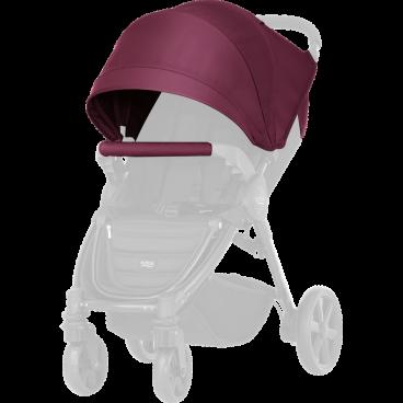 Britax-Romer Σετ Προστατευτικό Κάλυμμα Και Κουκούλα Καροτσιού B-Agile 4 Plus/B-Motion Wine Red R2000