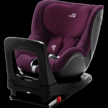 Britax-Romer Κάθισμα Αυτοκινήτου Dualfix i-Size, 40-105cm Burgundy Red R2000030772