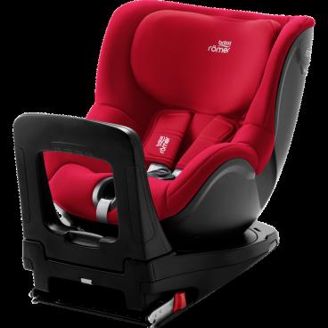 Britax-Romer Κάθισμα Αυτοκινήτου Dualfix i-Size, 40-105cm Fire Red R2000030771