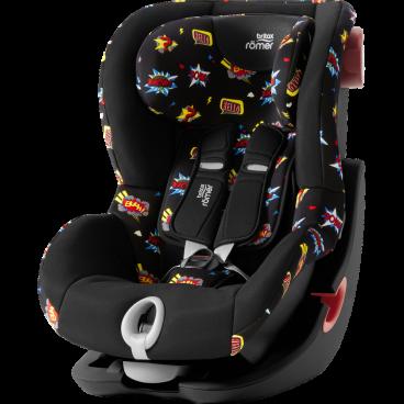 Britax-Romer Κάθισμα Αυτοκινήτου King II Black Series, 9-18 kg Comic Fun R2000030813