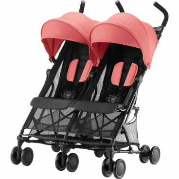 Britax-Romer Καρότσι Διδύμων Holiday Double Coral Peach R2000029305