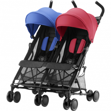Britax-Romer Καρότσι Διδύμων Holiday Double Red Blue R2000029306