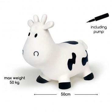BS Toys Φουσκωτό Ζωάκι Cow White GA126